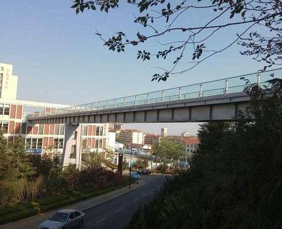 钢结构箱体.环翠楼天桥工程